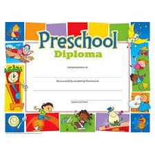 Prek Diploma Free Printable Preschool Diplomas Preschool Classroom Pinterest Pre