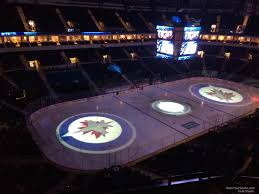 Bell Mts Centre Seating Chart Bell Mts Place Section 309 Winnipeg Jets Rateyourseats Com