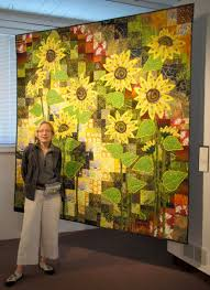 Katherine Knauer — Home & At the opening of Quilt National 2013 in Athens, Ohio.<br /> Adamdwight.com