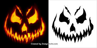 Free Pumpkin Carving Patterns Enchanting 48 Free Halloween Scary Pumpkin Carving Stencils Patterns