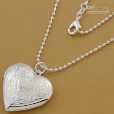 whole hot 925 silver heart locket pendant necklace pn509 gold necklace heart necklace from jerrycao 5 44 dhgate com
