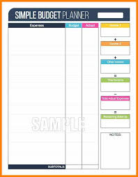 18+ Budget Planning Worksheets | Waa Mood