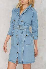 trenches denim trench coat