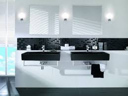 Black And White Bathroom Designs Custom Decorating