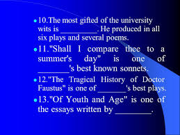 english literature lecture exercises ppt video online  of youth and age is one of the essays written by