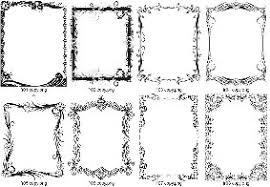 Фото на тему Прикольные тексты дипломов и почётных грамот  Орнаментальные рамки для грамот b