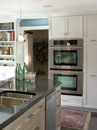 Double Oven Kitchen Design Equipped Kitchen