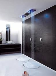 Double Contemporary Rain Shower Design