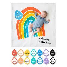 Lulujo Babys First Year Blanket Card Set