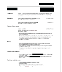 Writing A Resume With No Work Experience Sample Write Resume First