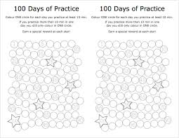 Practice Charts Piano Stars Pdfs