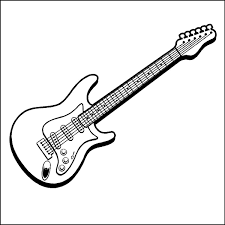 Electric guitar outline drawing at getdrawings free for electric guitar outline drawing 21 electric guitar outline