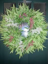 my beautiful bay leaf wreath from cottage gardens petaluma