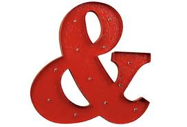 marquee ampersand ampersand wall decor metal wall sign