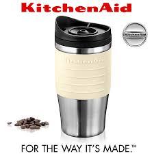 kitchenaid thermal travel mug 540 ml almond cream