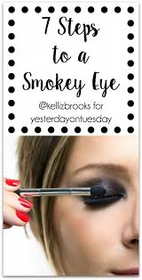 7 steps to a smokey eye how to create the perfect smokey eye easy