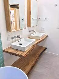 Live Edge Bathroom Counter Live Edge Bathroom Vanity Wood Etsy