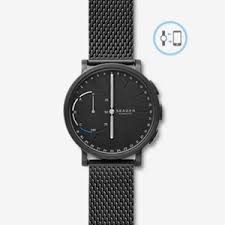 mens store online shopping for watches purses passport cases hagen connected steel mesh hybrid smartwatch