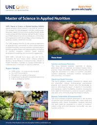 applied nutrition brochure