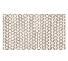 diamond wool rug ivory