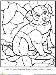 Small Picture Color By Number Kindergarten Free Coloring Pages Coloring