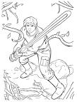 Мастера меча онлайн раскраска