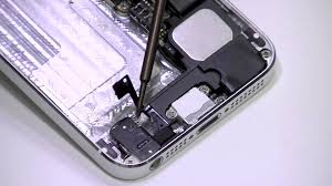 iphone 5 charging port and headphone jack replacement teardown you