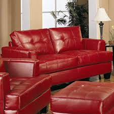 Red Leather Living Room Sets Home Design Living Room Set In Unaired Pilot Full Sets