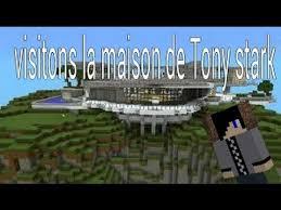 minecraft on visite la maison de tony stark