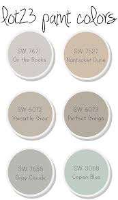 interior paint color and color palette