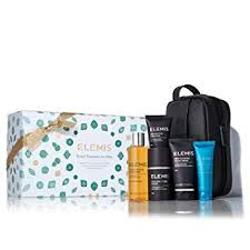 elemis travel treres for him skincare gift set