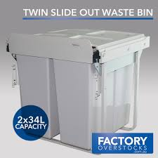 Kitchen Waste Bin Door Mounted Krb40d Kimberley Concealed Waste Bin