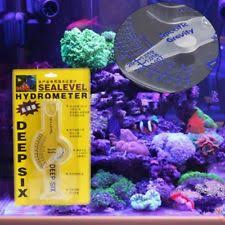instant ocean hydrometer. aquarium ocean hydrometer reef fish tank water salinity specific gravity test instant