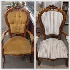 French Louis Chair Reupholster