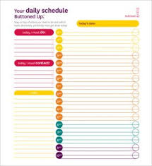 Daily Homeschool Schedule Template Homeschool Schedule Template Daily Printable Schedule Template