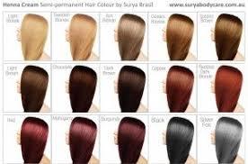 Surya Brasil Color Chart Surya Henna Cream Shade Chart Quote Art Golden Brown