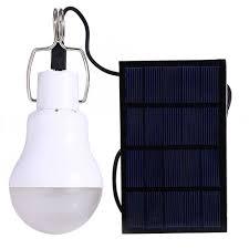 5v 15w 130lm solar power led bulb light