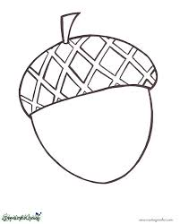 Fancy Acorn Coloring Pages 55 For Your Kids Of Sheet We Are All