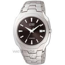 """men s citizen titanium eco drive watch bm6560 54h watch shop comâ""""¢ mens citizen titanium eco drive watch bm6560 54h"""