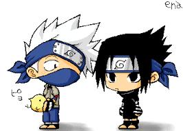 anime chibi naruto sasuke. Plain Anime Naruto Anime Kakashi And Sasuke Chibi Photo By Silverwolf86 To S