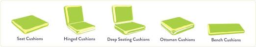 elegant replacement patio chair cushions sunbrella sunbrella replacement cushions