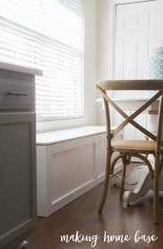 Window seat with storage Diy Window Seat With Storage Making Home Base How To Build Window Seat With Storage Diy Tutorial