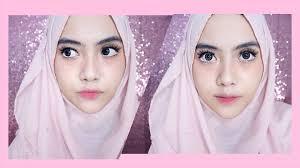 under eye blush on makeup tutorial shafira eden