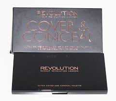 after several sites in english i found this corrector concealer palette and that made me happy revolution makeup revolution