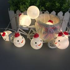 Christmas String Light Covers Hot Item New Led String Light With Snowman Cover Christmas Light