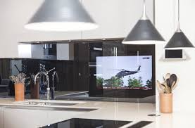 Tv In Kitchen Reflectv Splashbacks