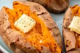 baked yams  or sweet potatoes