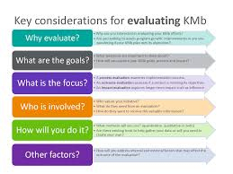 evaluating kmb knowledge mobilization toolkit evaluating kmb