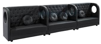 extra long leather sofa. Sofa, Black Leather Couch Extra Long Shape Modern Design Comfortable To Occupy Some People Sofa G
