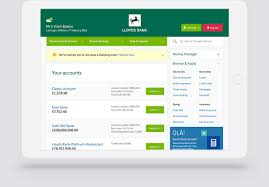 portfolio work lloyds bank internet banking 03